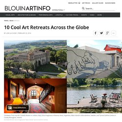10 cool art retreats