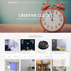 Creative Clocks