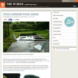 Cool Garden Pool Ideas - Time to Build