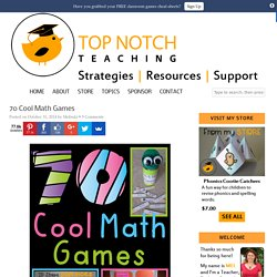 70 Cool Math Games