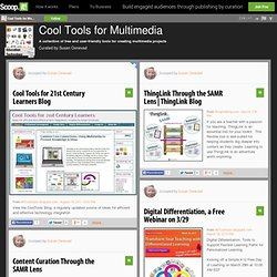 Cool Tools for Multimedia