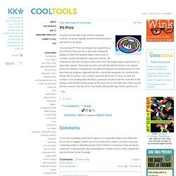Cool Tool PS Print