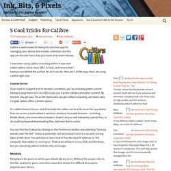5 Cool Tricks for Calibre - The Digital Reader