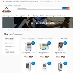 Buy Bajaj Room Cooler Online at Best Price in India