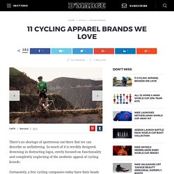 11 Coolest Cycling Clothing Brands For Men