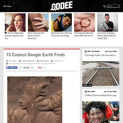 15 Coolest Google Earth Finds - Oddee.com - Flock