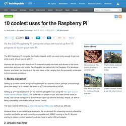 10 coolest uses for the Raspberry Pi