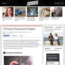 12 Coolest Steampunk Gadgets - Oddee.com (steampunk jewelry)