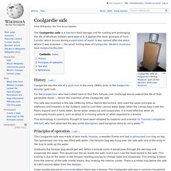 Coolgardie safe - Wikipedia