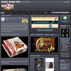 CoolMiniOrNot - The Internet's largest gallery of Painted Miniatures and Miniature Painting art - Site