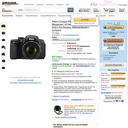 Nikon Coolpix P520 Digitalkamera 3,2 Zoll schwarz: Amazon.de: Elektronik