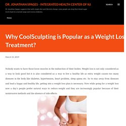 Choose Coolsculpting For Weight Loss Treatment in New Jersey