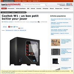 Cooltek W1 : un bon petit boitier pour jouer