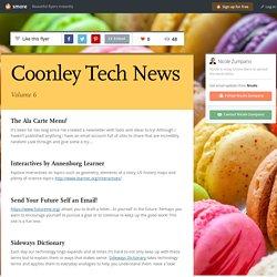 Coonley Tech News