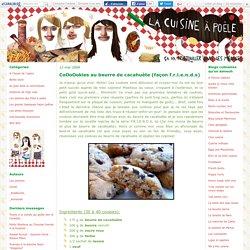 CoOoOokies au beurre de cacahuète (façon f.r.i.e.n.d.s) - La cuisine à poêle