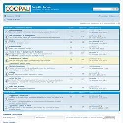 Forum Coop Ali (compte à confirmer par l'admin)