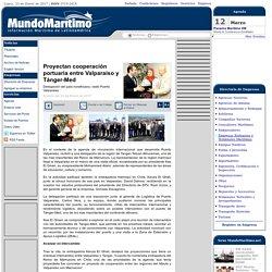 Proyectan cooperación portuaria entre Valparaíso y Tánger-Med