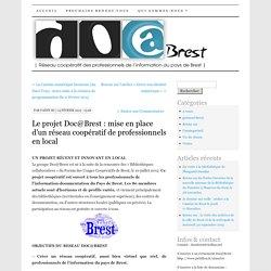 Le projet Doc@Brest : mise en place d'un réseau coopératif de professionnels en local