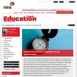 Impacts éducatifs de la coopération sur les apprentissages