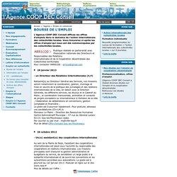 l'Agence COOPDEC Conseil - conseil en coopération décentralisée