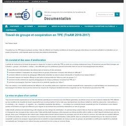 Travail de groupe et coopération en TPE (Trello)