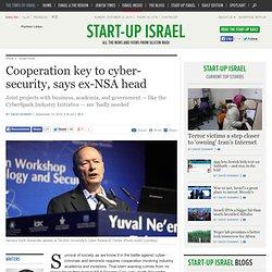 Cooperation key to cyber-security, says ex-NSA head