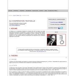 Umberto Eco : La coopération textuelle