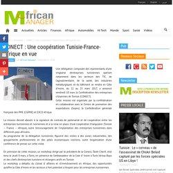 CONECT : Une coopération Tunisie-France-Afrique en vue