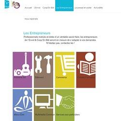 L'Envol, Coopérative d'Activité et d'Emploi en Bourgogne