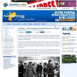 Bordeaux : une coopérative d'achats éthique et solidaire