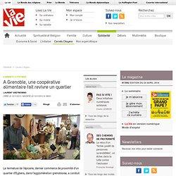 A Grenoble, une coopérative alimentaire fait revivre un quartier - Carnets Citoyens