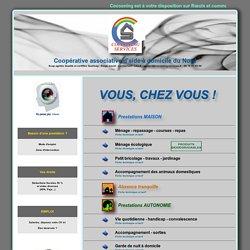 Coopérative associative d'aide à domicile du Nord, Lille, Cocooning Services