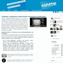 CLARAbis, Coopérative Audiovisuelle, Numérique & Multimédia - CAE CLARA & CLARAbisCAE CLARA & CLARAbis