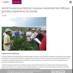 World Cooperative Monitor: nouveau classement des 300 plus grandes coopératives du monde