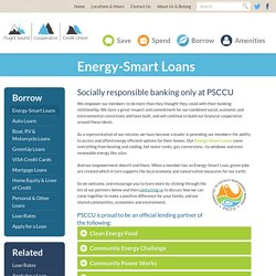 Puget Sound Cooperative Credit Union - Energy-Smart Loans
