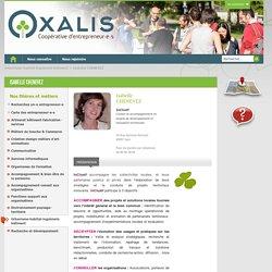 Isabelle CHENEVEZ - Oxalis SCOP CAE - Coopérative d'Activité et d'Entrepreneurs