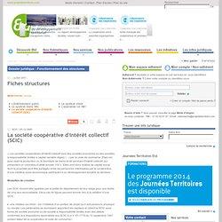 La société coopérative d'intérêt collectif (SCIC) / Fiches structures / Fonctionnement des structures / Les infos juridiques