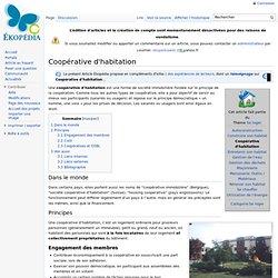Coopérative d'habitation