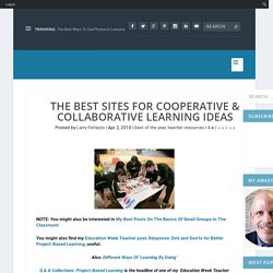 The Best Sites For Cooperative Learning Ideas