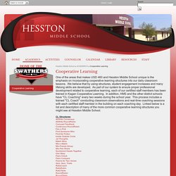 Cooperative Learning - Hesston Middle School
