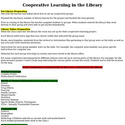 Cooperative Learning in the Library