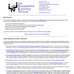 The Cooperative Learning Network
