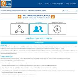 Coopérative d'Activités et d'Emploi - Nouvelles organisations du travail - Guides