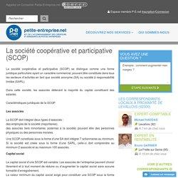 La société coopérative et participative (SCOP)