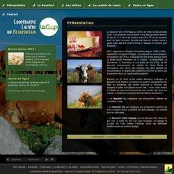 Coopérative laitière du Beaufortain : Présentation