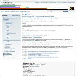 Société Coopérative à Responsabilité Illimitée (SCRI)