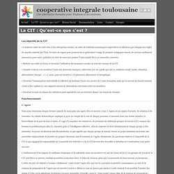 cooperative integrale toulousaine