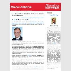 Les Coopératives d'Activité et d'Emploi dans la loi du 8 août 2016
