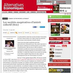 Les sociétés coopératives d'intérêt collectif (Scic)