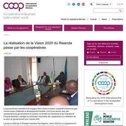 La réalisation de la Vision 2020 du Rwanda passe par les coopératives